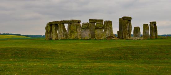 Ben Whitcombe in Stonehenge